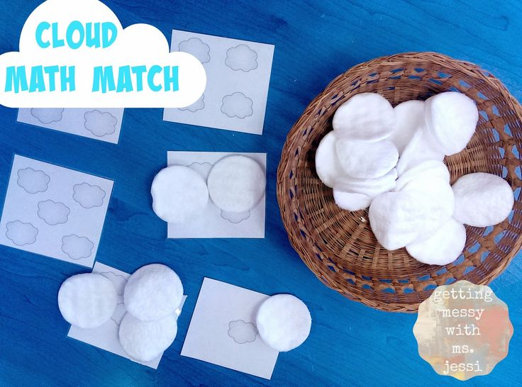 Getting Messy With Ms. Jessi: Cloud Art and Cloud Math