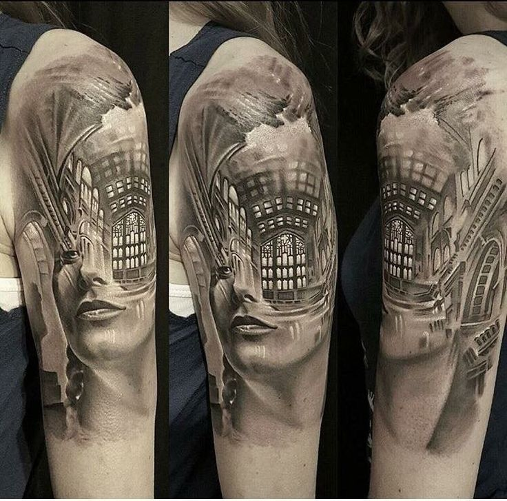 Beginning of my sleeve artist brandon thurston of blood for How to become a tattoo artist in india