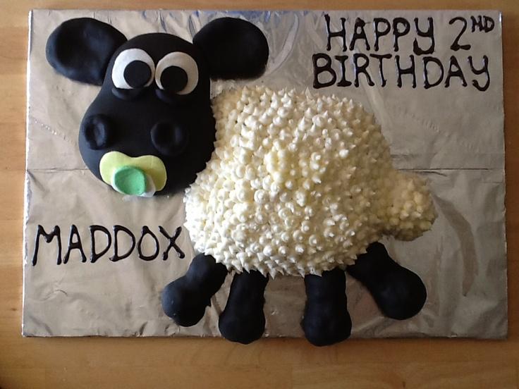 Timmy Time Sheep Birthday Cake!
