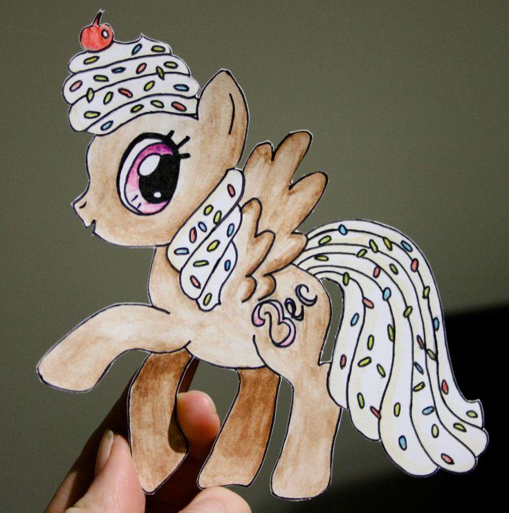 My Little Pony Birthday Card