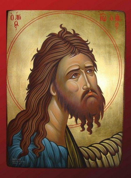Αποτέλεσμα εικόνας για αγιος ιωαννης προδρομος αγιογραφια