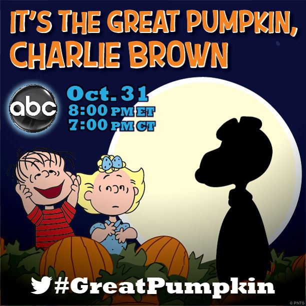 countdown to halloween peanuts style - Charlie Brown Halloween Abc