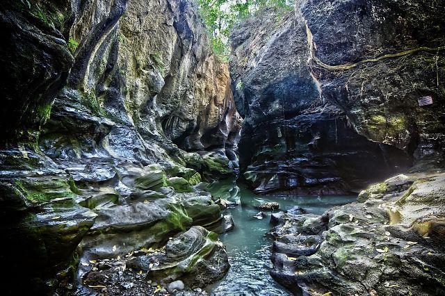 Скрытый каньон на Бали
