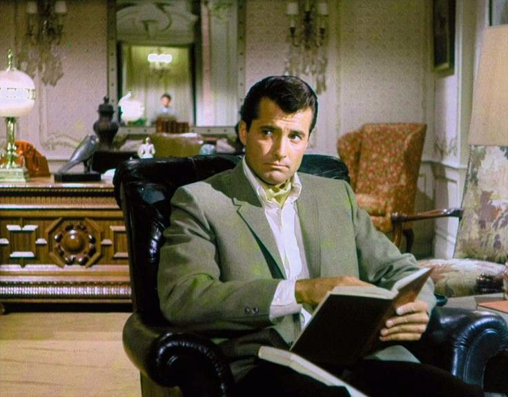 Lyle Waggoner during a screen test as the character Bruce Wayne, 1960's.