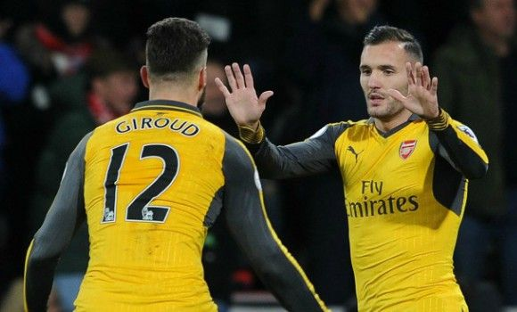 Arsene Wenger singles out Lucas Perez for special praise