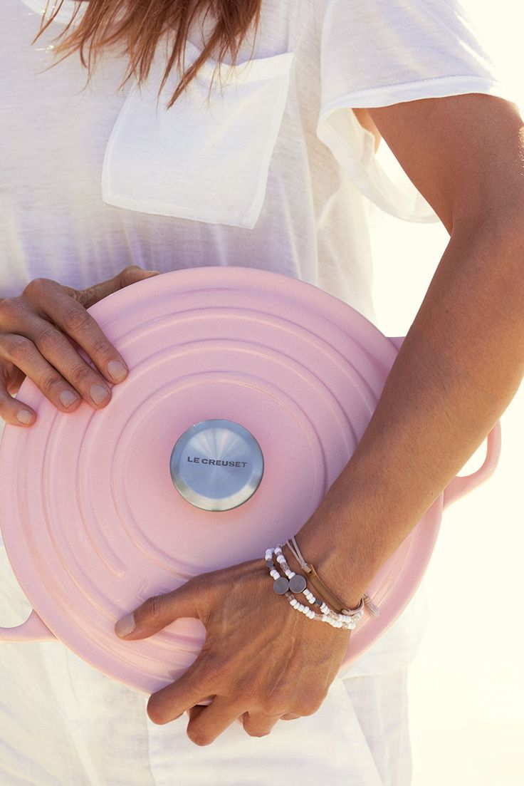 17 best images about nuevo color chiffon pink on pinterest - Le creuset barcelona ...