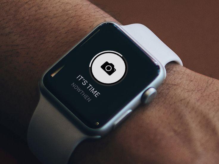 NowThen iOS App - Watch Mockup