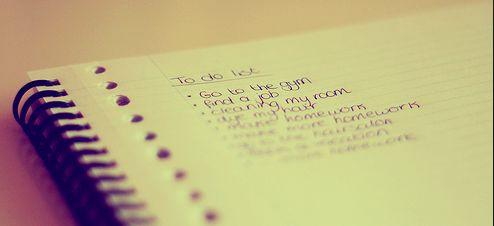 #93 skriv en ny liste på 200 ting - jeg ønsker at gør før jeg dør.