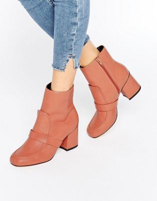 ASOS REMY Loafer Ankle Boots