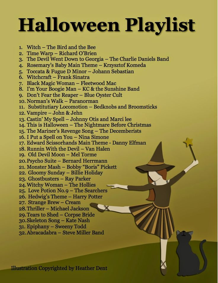 I love October, and I love lists. So you can expect a lot of Halloween/fall re…