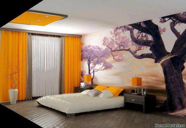 Cовременный японский дизайн спальни | Дизайн интерьера спальни | Фотогалерея ремонта и дизайна | Школа ремонта. Ремонт своими руками