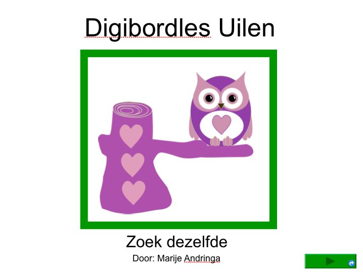 digibordles uilen