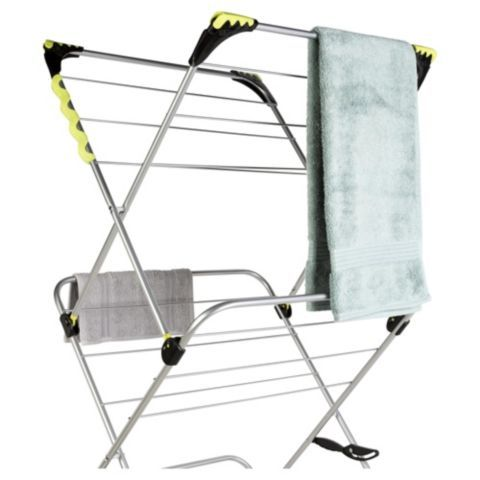 Buy Minky 3 Tier Indoor Clothes Airer With Flip Outs from our Indoor Airers range - Tesco