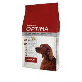 OPTIMA Perros Complet de Cotécnica es un alimento completo y equilibrado con un excelente sabor gracias a la carne fresca. Está diseñado para cubrir todas la necesidades nutricionales de los perros adultos con un nivel de actividad normal, sea cual sea su raza y tamaño. Compra online en www.zazbuy.com. ENVIAMOS a Las Palmas de Gran Canaria, Tenerife, Fuerteventura, Lanzarote. #perros #dogs #mascotas #pets #piensosparaperros #optima #piensooptima #piensooptimacanarias #optimapienso