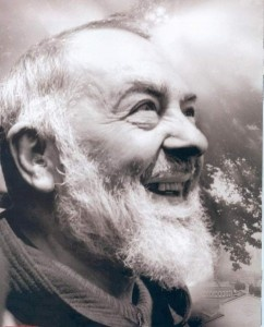 St. Pio of Pietrelcina (Padre Pio) (b. 1887-d. 1968).To finance the education of Padre Pio, his father went to America to find work. During this time, he was confirmed (September 27, 1899), studied with tutors & completed requirements for entrance into the Capuchin order. At age 15, he took the Habit of the Order of Friars Minor Capuchin on January 22, 1903. On the day of his investiture, he took the name of Pio in honor of Saint Pius V, the patron saint of Pietrelcina. Feast Day Sept 23…