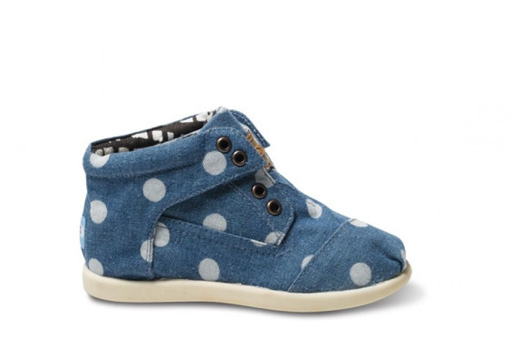 Marley Tiny TOMS Botas. Baby Toms? Yes.