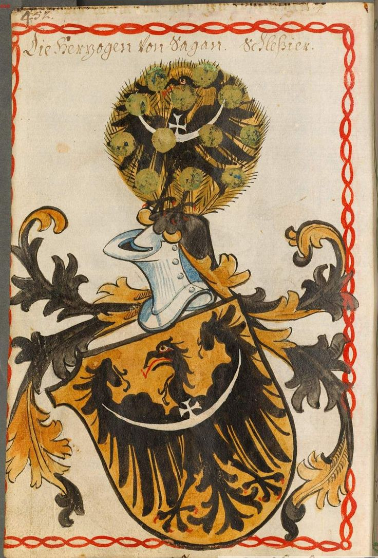 The coat of arms of Silesia.