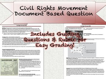 dbq 20 the civil rights movement Essays - largest database of quality sample essays and research papers on dbq 20 the civil rights movement.