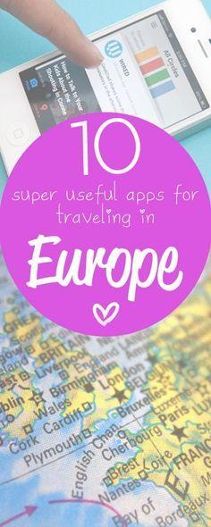 My favorite Europe #travel apps! http://www.eurotriptips.com/favourite-europe-travel-apps/ ➤ see more at www.matadornetwork.com