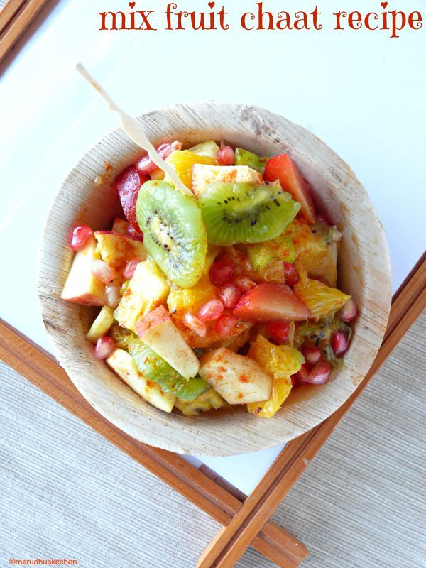 mix fruit chaat /recipe for fruit chaat