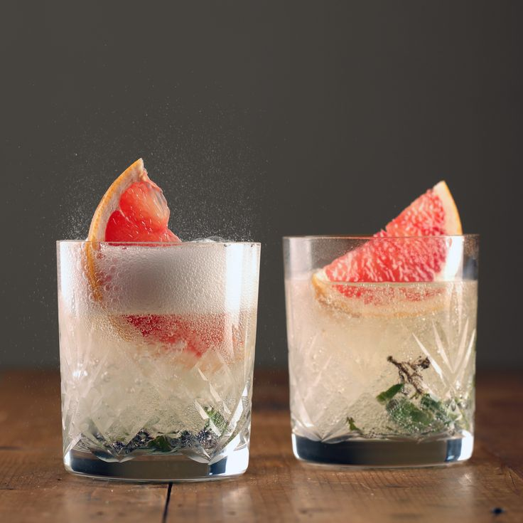 Sparkling Chardonnay Mocktail with Ruby Grapefruit - Maggie Beer