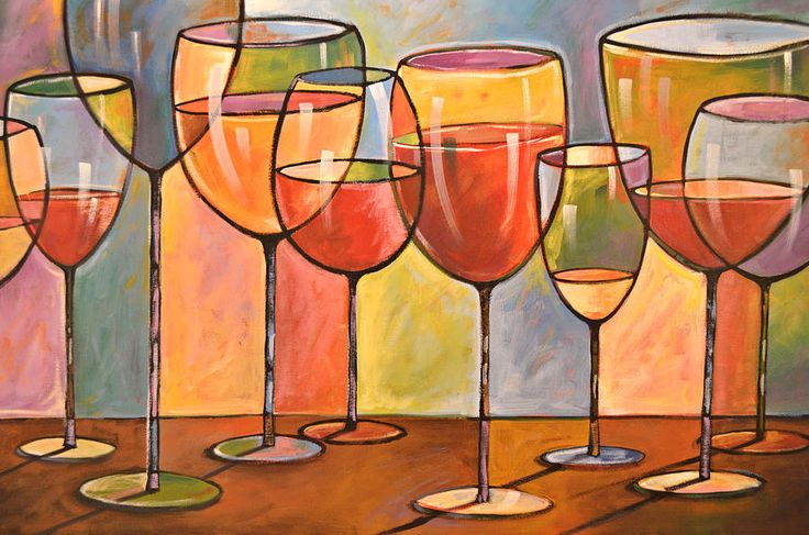 wine art - Google Search