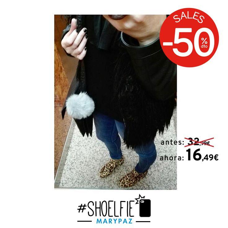 HASTA 50% DTO.¡¡REBAJAS MARYPAZ!! En tiendas físicas y online  Buenos días con el #Shoelfie by @daannila  Hazte con este BOTÍN ANIMAL PRINT aquí ►http://www.marypaz.com/trendy/botin/botin-bloque-0190116i590-74945.html  #SoyYoSoyMARYPAZ #Follow #winter #love #fashion #colour #tendencias #marypaz #locaporlamoda #BFF #igers #moda #zapatos #trendy #look #itgirl #invierno #AW16 #igersoftheday #girl  **Promoción válida desde el 07 de enero.