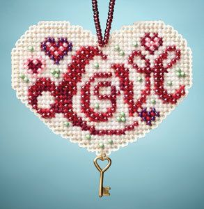 2013 MILL HILL KIT  I Love Charmed Ornaments  by DebiCreations, $5.99
