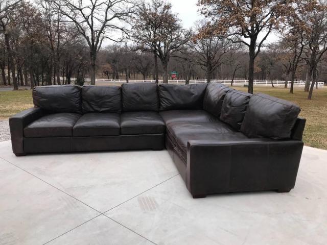 Living Room Furniture Bono Usa Premium 9946 Brampton Bomber Brown