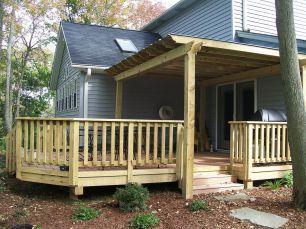 Modern Front Porch Rails Design Ideas 39