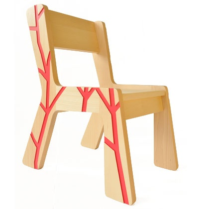 Stunning Chair Profile red by Kidsonroof