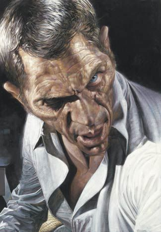 Steve McQueen Caricature    Words cannot describe how talented Sebastian Kruger is at drawing caricatures