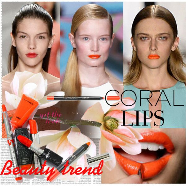 Beauty Trend Coral Lips