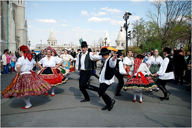 Folk-dance show in the Buda Castle at Easter. #Budapest #Hungary