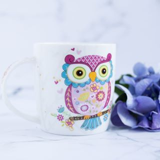 I found a new mug today at the grocery store and it was love at first sightBackdrop used Stone Collection  Marble  S