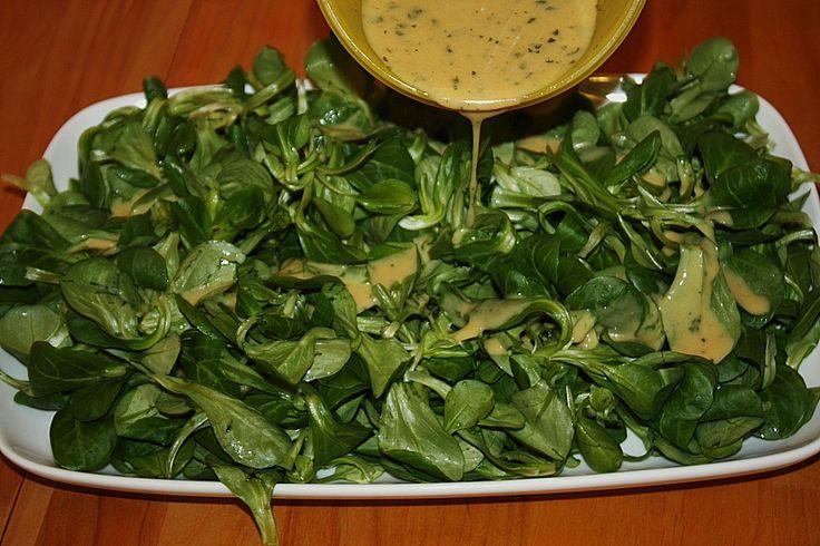 Senf - Salatsoße
