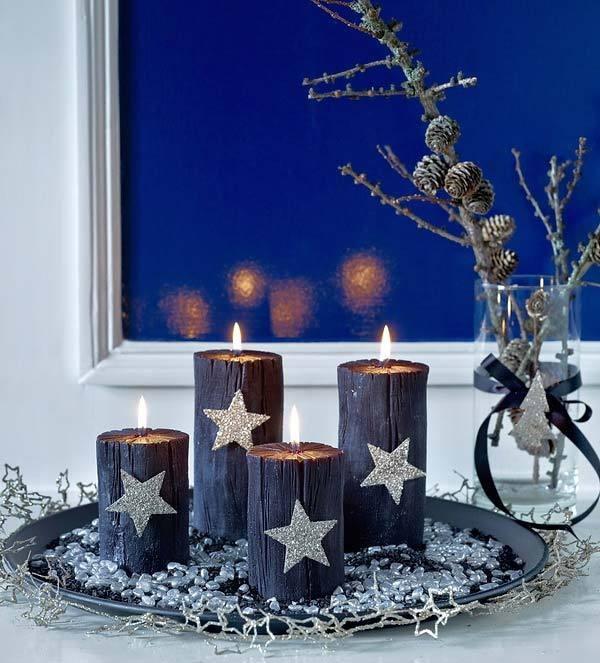 pin von elena auf new year advent kerzen adventskranz. Black Bedroom Furniture Sets. Home Design Ideas