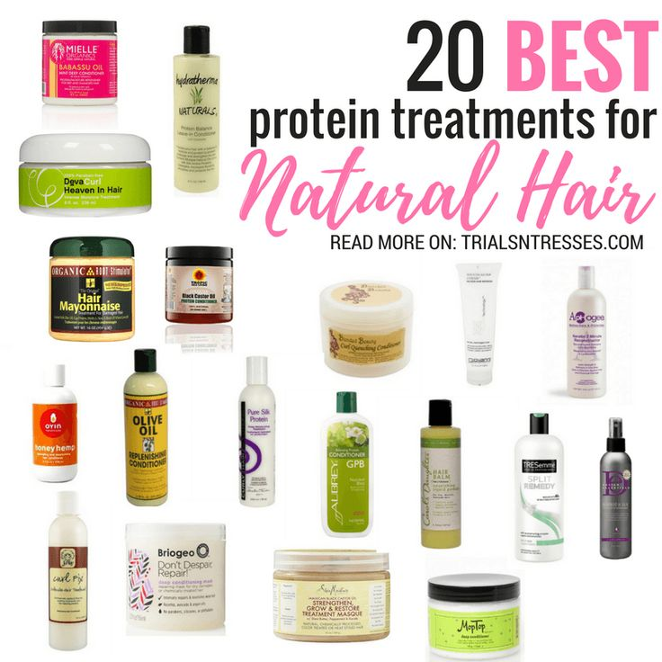 Your hair needs protein just as much as it needs moisture so if you aren't aware here are 20 of the best protein treatments for natural hair you can try out