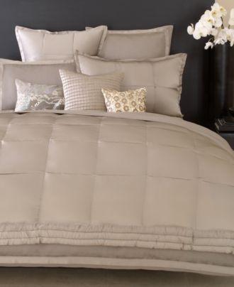 donna karan bedding modern classics platinum ash collection bedding collections bed u0026 bath