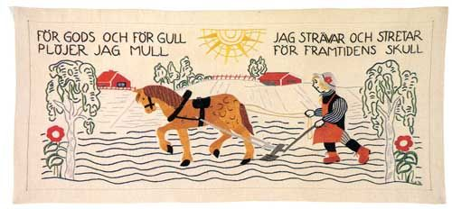 Nordic Needle Stash Newsletter - Swedish Bonader