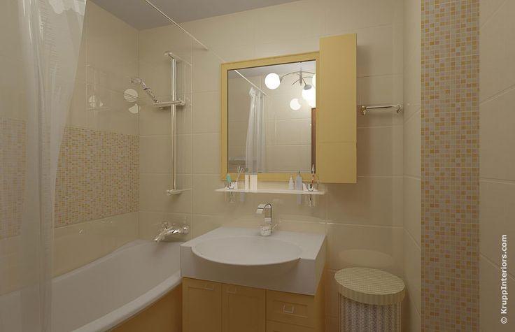 Дизайн ванной комнаты 3 кв.м без унитаза со стиральной машиной фото