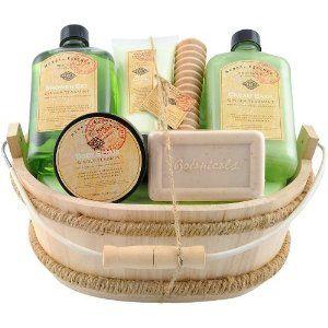 Bath Gift Set Herbal Essence - Ginger Tea & Mint by Gloss!. $35.93