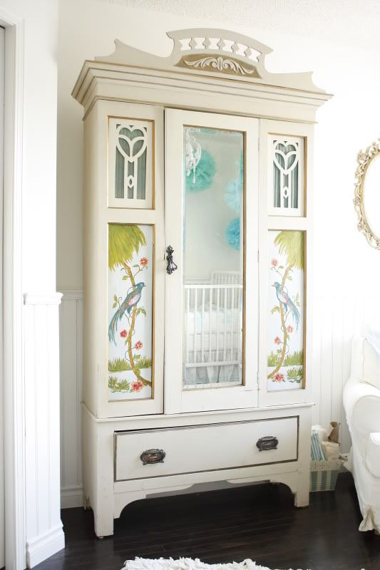 armoire update idea from