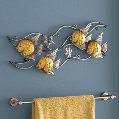 Metal Fish Wall Decor 221 best metal wall art images on pinterest | metal walls, metal