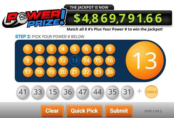 Hurry up! Now, PCH Lotto PowerPrize jackpot up to $4,000,000 - Could
