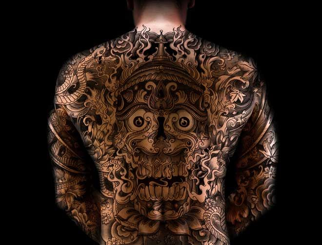 Ilustraciónes y tatuajes de Megamunden