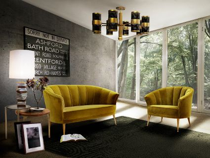 MAYA Armchair Mid Century Modern Furniture by BRABBU is perfect to be a center piece in a living room set.