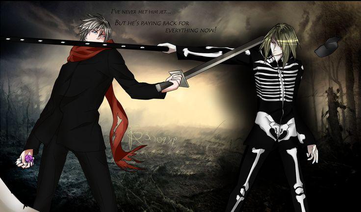 Kain VS Hoshi Ramashou Kain from the Element Soul manga/comic ~ by /me ;P/ =BJR