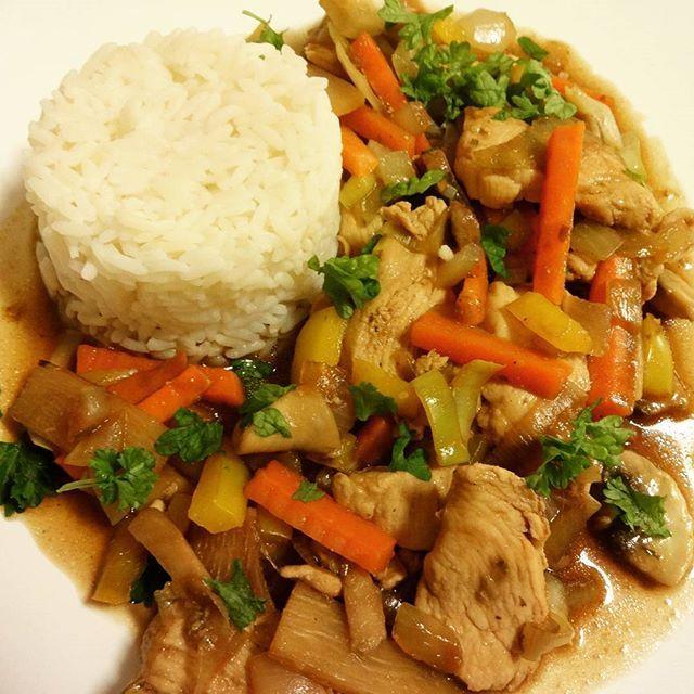 Edel's Mat & Vin : Chicken Chop Suey 🐔