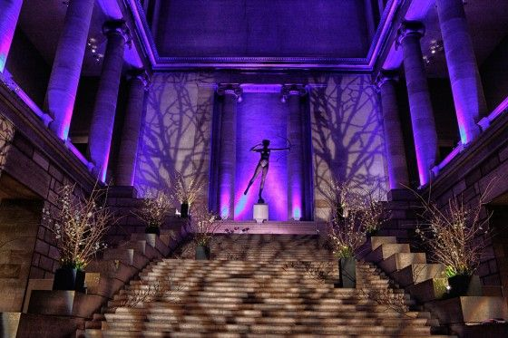 Tree Branch Gobos Create A Forest On The Walls Quot Event